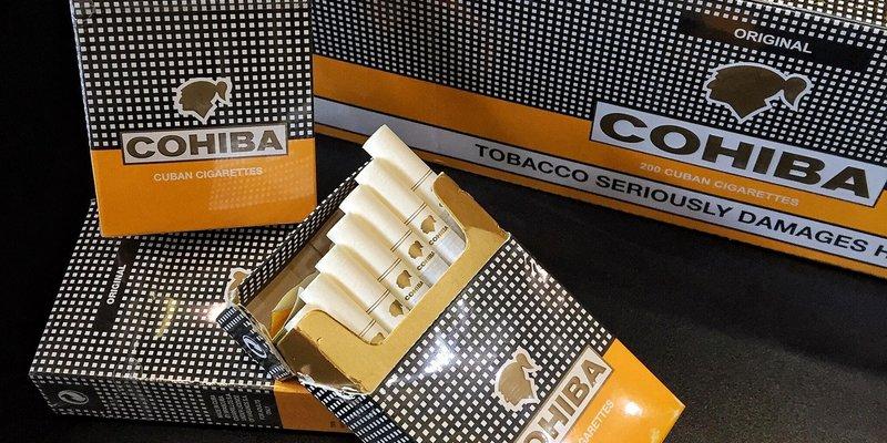 Mua thuốc lá cohiba chính hãng ở đâu giá rẻ