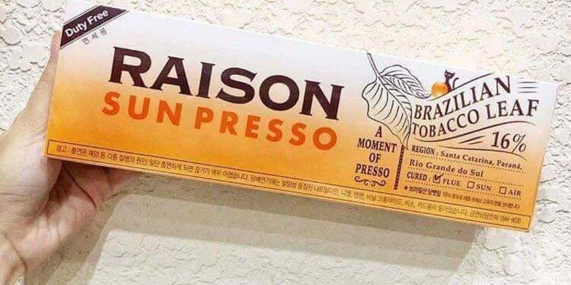 Mua thuốc lá Raison ở đâu hà nội, TPHCM