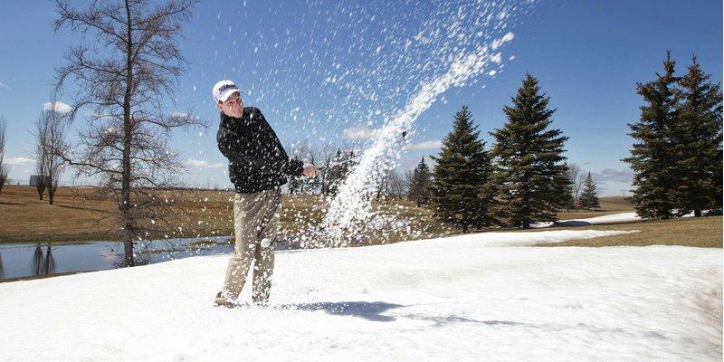 Những kinh nghiệm khi chơi golf trong điều kiện thời tiết lạnh