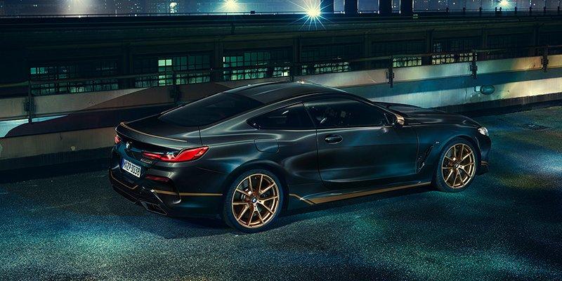 Chiêm ngưỡng BMW 8 Series Edition Golden Thunder đột phá hơn trong phiên bản mới