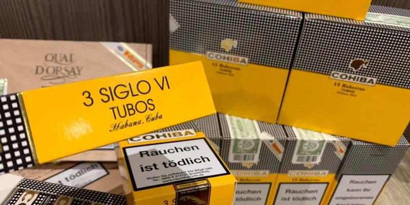 Bảng giá xì gà (Cigar) Cohiba mới nhất 2021