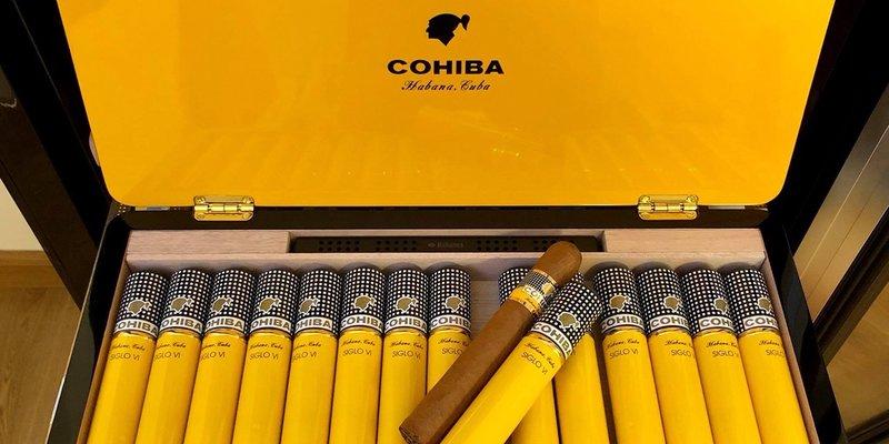 Có gì trong hộp xì gà sản xuất bằng tay Siglo 6 hộp 15 điếu?