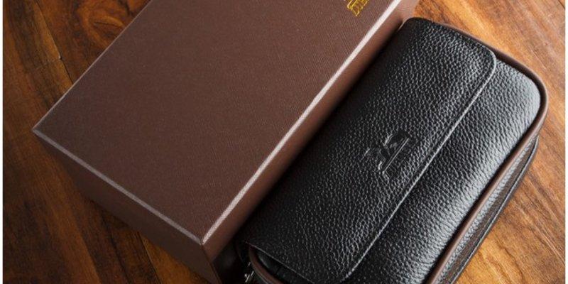 Sự cần thiết của chiếc ví da đựng xì gà