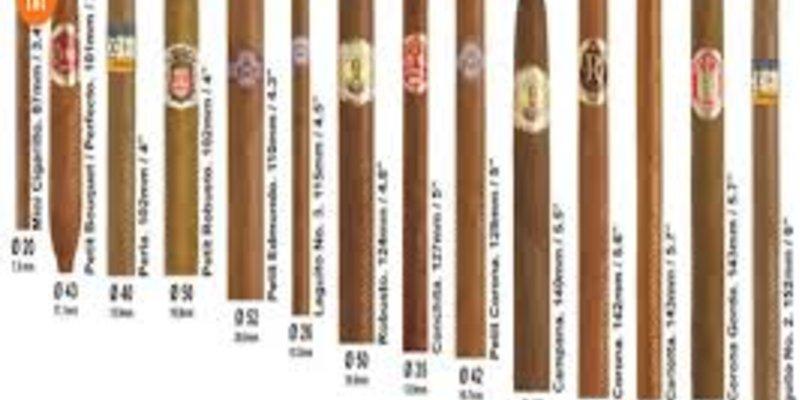 Tìm hiểu về các kích thước của điếu xì gà và thời gian hút