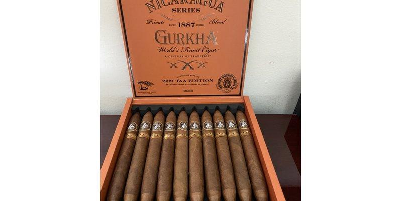 GURKHA NICARAGUA SERIES TAA EXCLUSIVE 2021 DỰ KIẾN VÀO THÁNG 6
