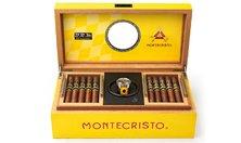 Montecristo BRM Humidor Hộp Giữ ẩm Xì gà Độc đáo Kèm đồng hồ