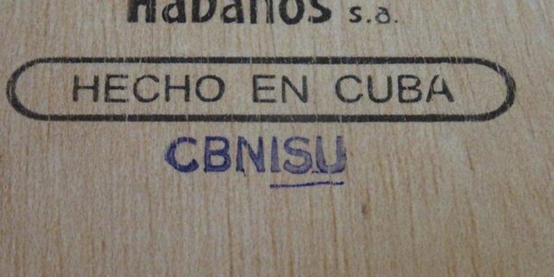 Mã hóa hộp xì gà Cuba - Mã sản xuất