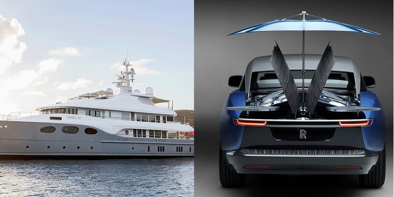 Nên Mua Rolls-Royce hay du thuyền?