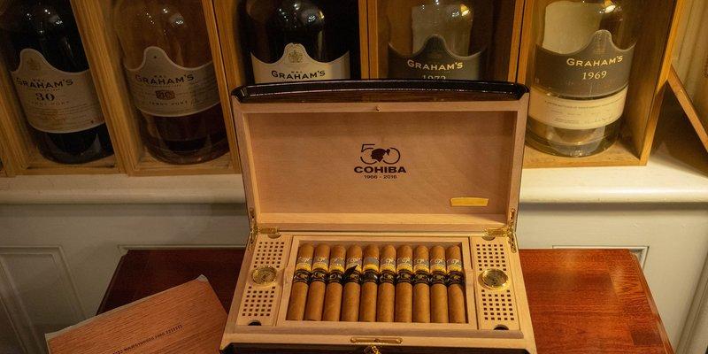 Các loại xì gà cohiba