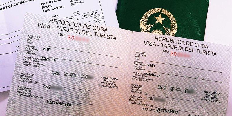 Hướng dẫn làm visa Cuba mới nhất