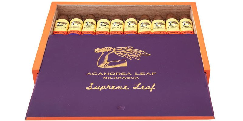 Aganorsa's Limited-Edition Supreme Leaf Torpedo bắt đầu được bán