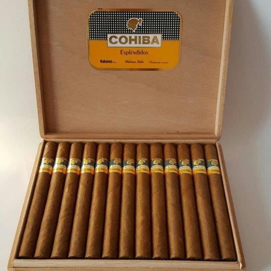 Xì gà Cohiba Esplendidos – Hộp 25 điếu
