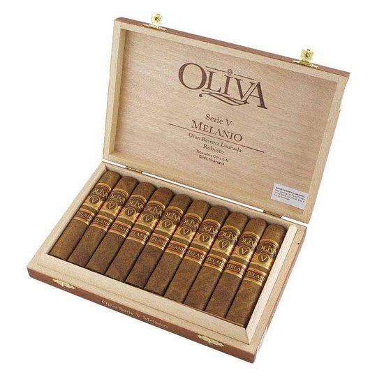 Xì gà Oliva Serie V Melanio Robusto - Hộp 10 điếu