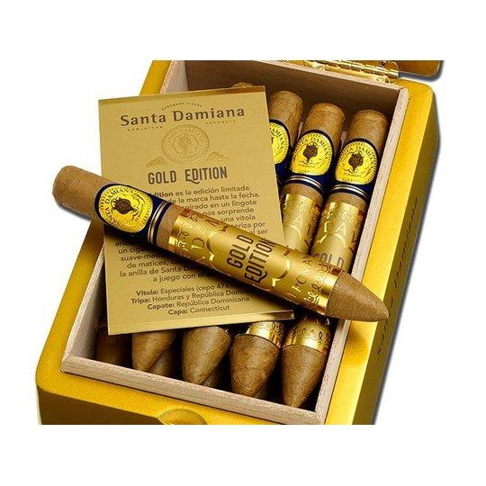 Xì gà Santa Damiana Gold - Hộp 10 điếu