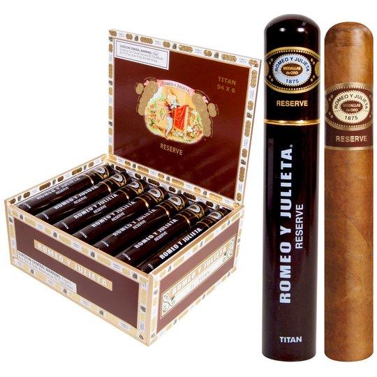 Xì gà Romeo Y Julieta Habana Reserve Titan - Hộp 21 Điếu
