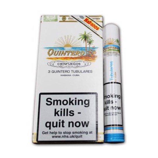 Xì gà Quintero Tubulares Tubos - Hộp 3 điếu