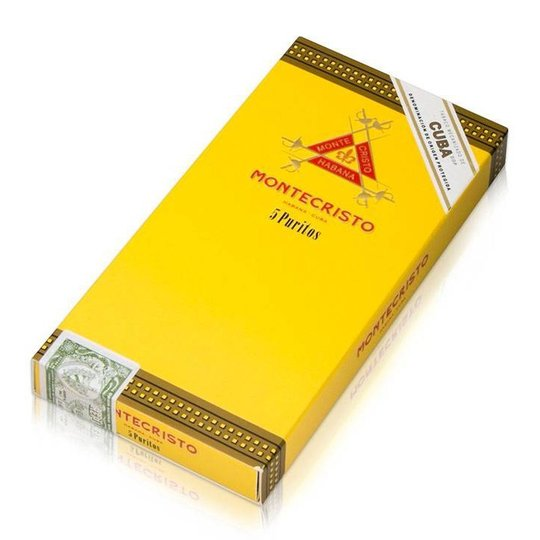 Xì gà Montecristo Puritos - Hộp 5 điếu