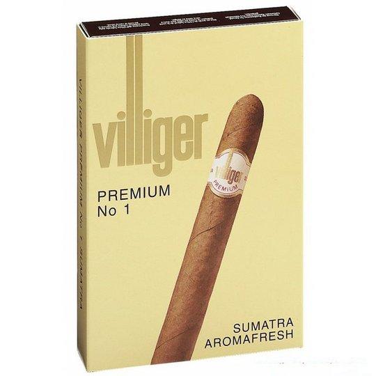Xì gà Villiger Premium No1 Sumatra - Hộp 5 điếu