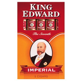 Xì gà Mỹ King Edward Imperial - Hộp 5 điếu