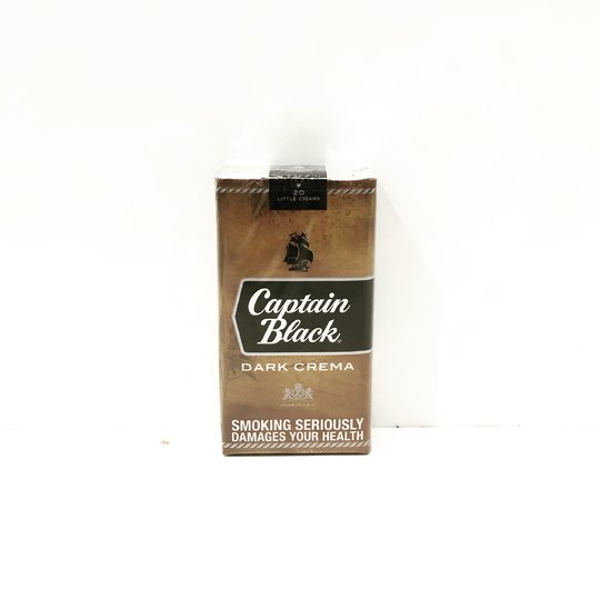 Xì gà Captain Black Dark Crema Little Cigars - 1 Cây 10 Bao