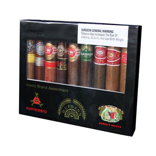 Xì gà The Iconic 9 Sampler - Hộp 9 điếu