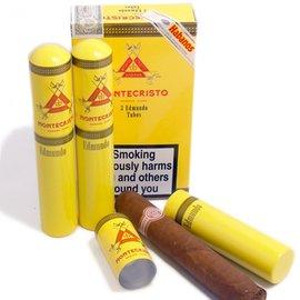 Xì gà Montecristo Petit Edmundo Tubos - Hộp 3 điếu