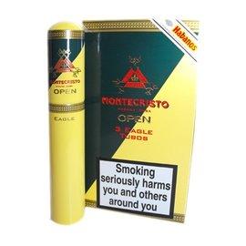 Xì gà Montecristo Open Eagle Tubos - Hộp 3 điếu