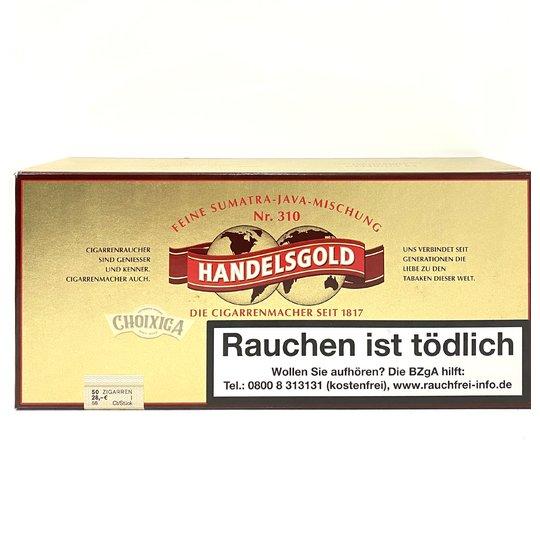 Xì gà Handelsgold Sumatra - Hộp 50 điếu