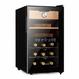 Tủ xì gà và rượu vang 2in1 Klarstein El Dorado 48L