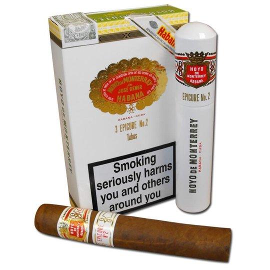 Xì gà Hoyo de Monterrey Epicure No.2 Tubos - Hộp 3 điếu