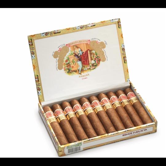 Xì gà Romeo Y Julieta Short Churchills - Hộp 10 điếu