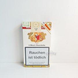 Xì gà Romeo Y Julieta Short Churchills Tubos - Hộp 3 điếu