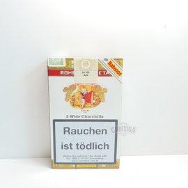 Xì gà Romeo Y Julieta Wide Churchills Tubos - Hộp 3 điếu