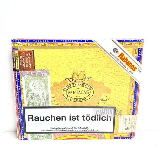 Xì gà Partagas Mille Fleurs - Hộp 10 Điếu