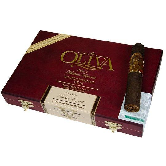 Xì gà Oliva Serie V Maduro Double Robusto - Hộp 10 điếu