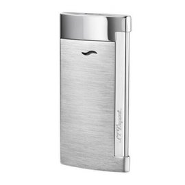 S.T. Dupont Slim 7 Lighter Brushed Chrome Finish 027701