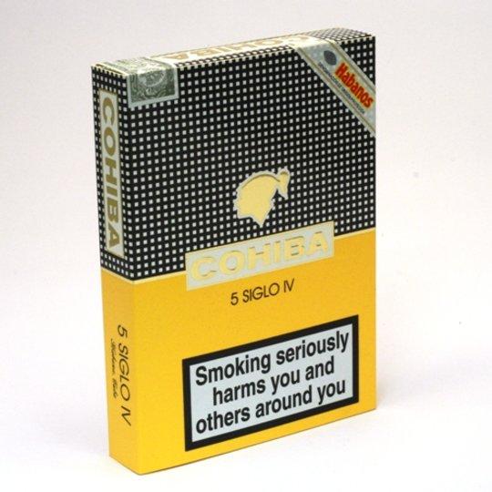 Xì gà Cohiba Siglo 4 (IV) – Hộp 5 điếu