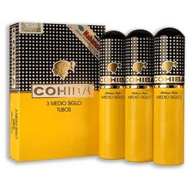 Xì gà Cohiba Medio Siglo Tubos - Hộp 3 điếu