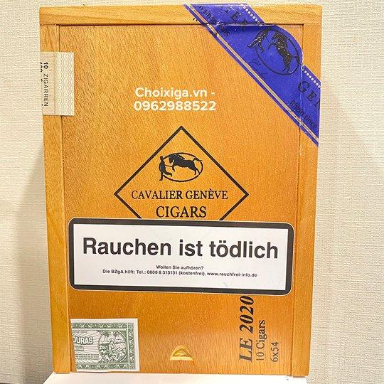 Xì gà Cavalier Genève Limited Edition LE 2020 - Hộp 10 điếu