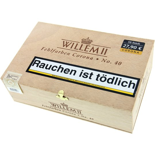 Xì gà Willem II Fehlfarben Corona No. 40