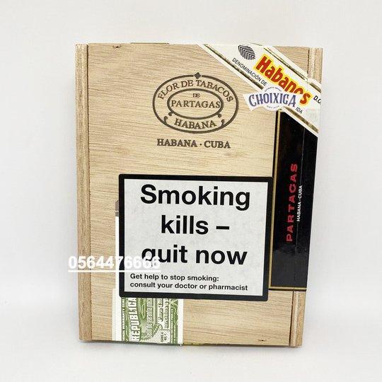 Xì gà Partagas E No 2 - Hộp 5 điếu