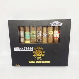 Xì gà Global Cigar Sampler - Hộp 9 điếu