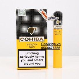 Xì gà Cohiba Siglo 6 VI Tubos – Hộp 03 điếu