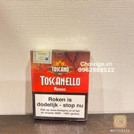 Xì gà Toscanello Rosso Hà Lan - Hộp 5 điếu