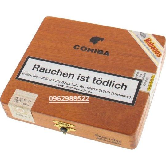 Xì gà Cohiba Panetelas - Hộp 25 điếu