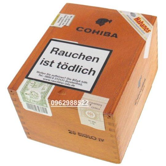 Xì gà Cohiba Siglo 4 IV – Hộp 25 điếu