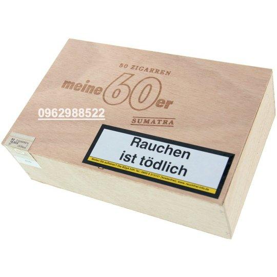 Xì gà Meine Cigarillos 60er Sumatra - Hộp 50 điếu