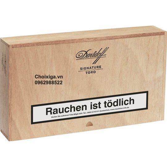 Xì gà Davidoff Signature Toro - Hộp 25 điếu