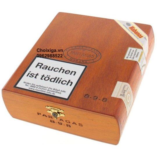 Xì gà Partagas 8-9-8 varnished - Hộp 25 điếu