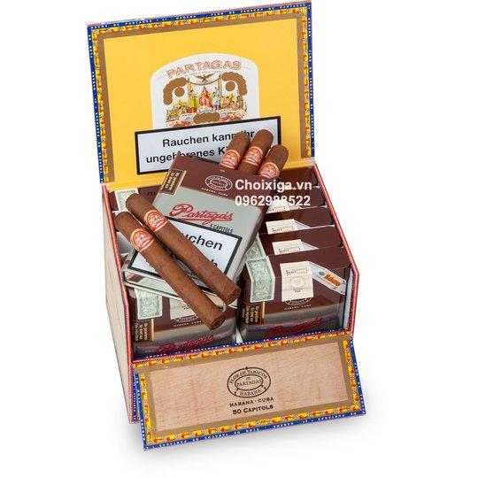 Xì gà Partagas Capitols - Hộp 25 điếu